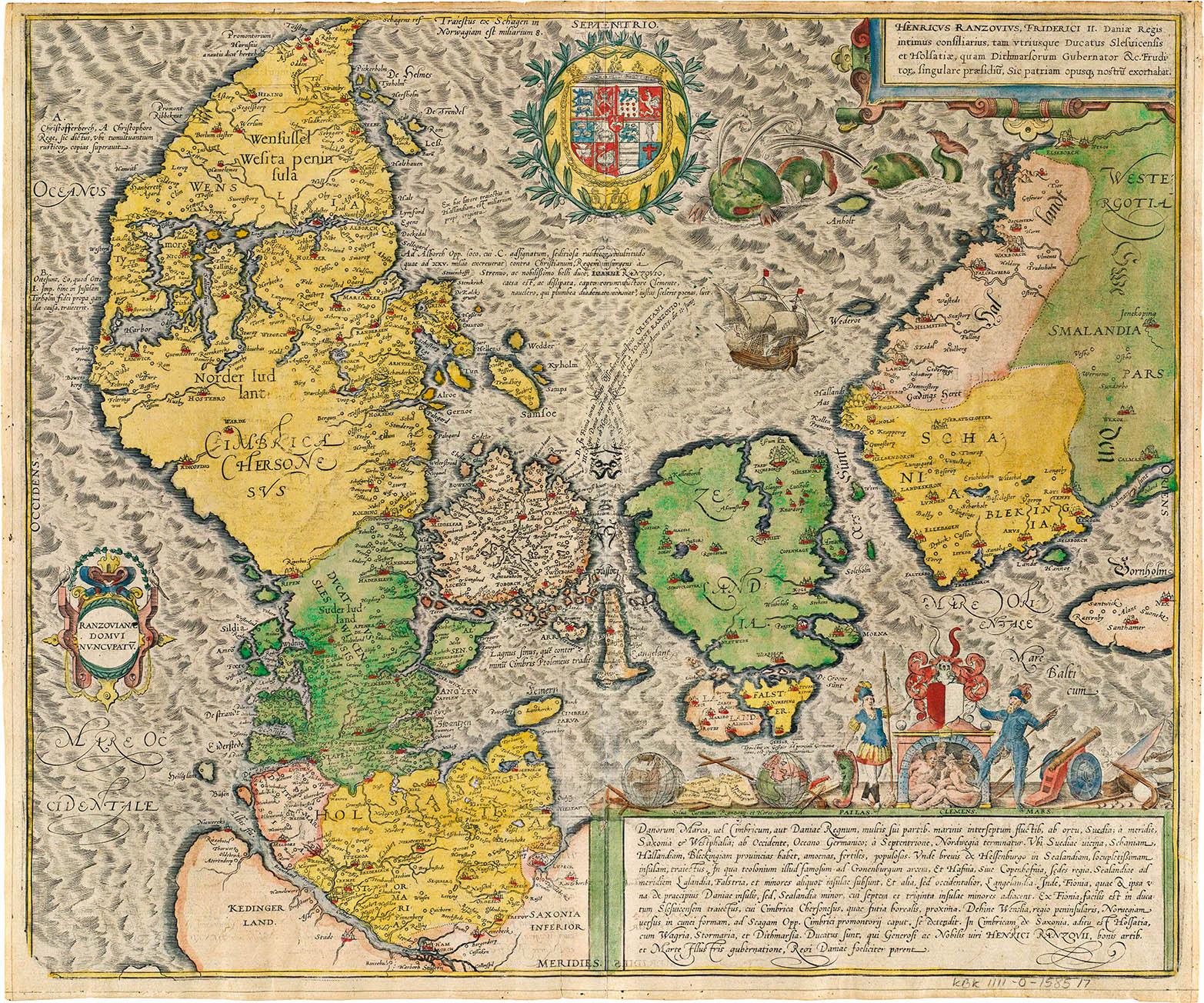 Kort Over Danmark