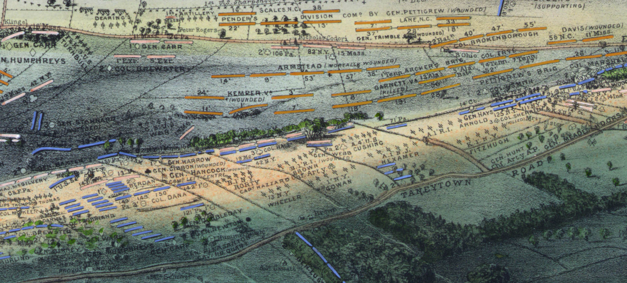 Gettysburg Gettysburg Battlefield Map on seminary ridge, george pickett, pickett's charge, lewis addison armistead, gettysburg national cemetery, gettysburg college map, battle of gettysburg, third day cavalry battles, manassas battlefield park map, little round top map, knights of the golden circle map, day-one gettysburg map, battle of gettysburg, fort necessity national battlefield map, eastern shore of maryland map, battle of gettysburg, second day, cemetery hill, july 1 gettysburg map, devil's den, cemetery ridge map, gettysburg campaign, historic gettysburg map, gettysburg cyclorama, gettysburg wheatfield map, eternal light peace memorial, 1st day gettysburg map, barlow knoll gettysburg map, civil war 1863 gettysburg map, battle of gettysburg, first day, gettysburg campaign map, big round top, cemetery ridge, gettysburg town map, richmond national battlefield park map, lee's retreat from gettysburg map, little round top, pickett's charge at gettysburg map, bull run map, gettysburg address, gettysburg national tower, gettysburg museum and visitor center,