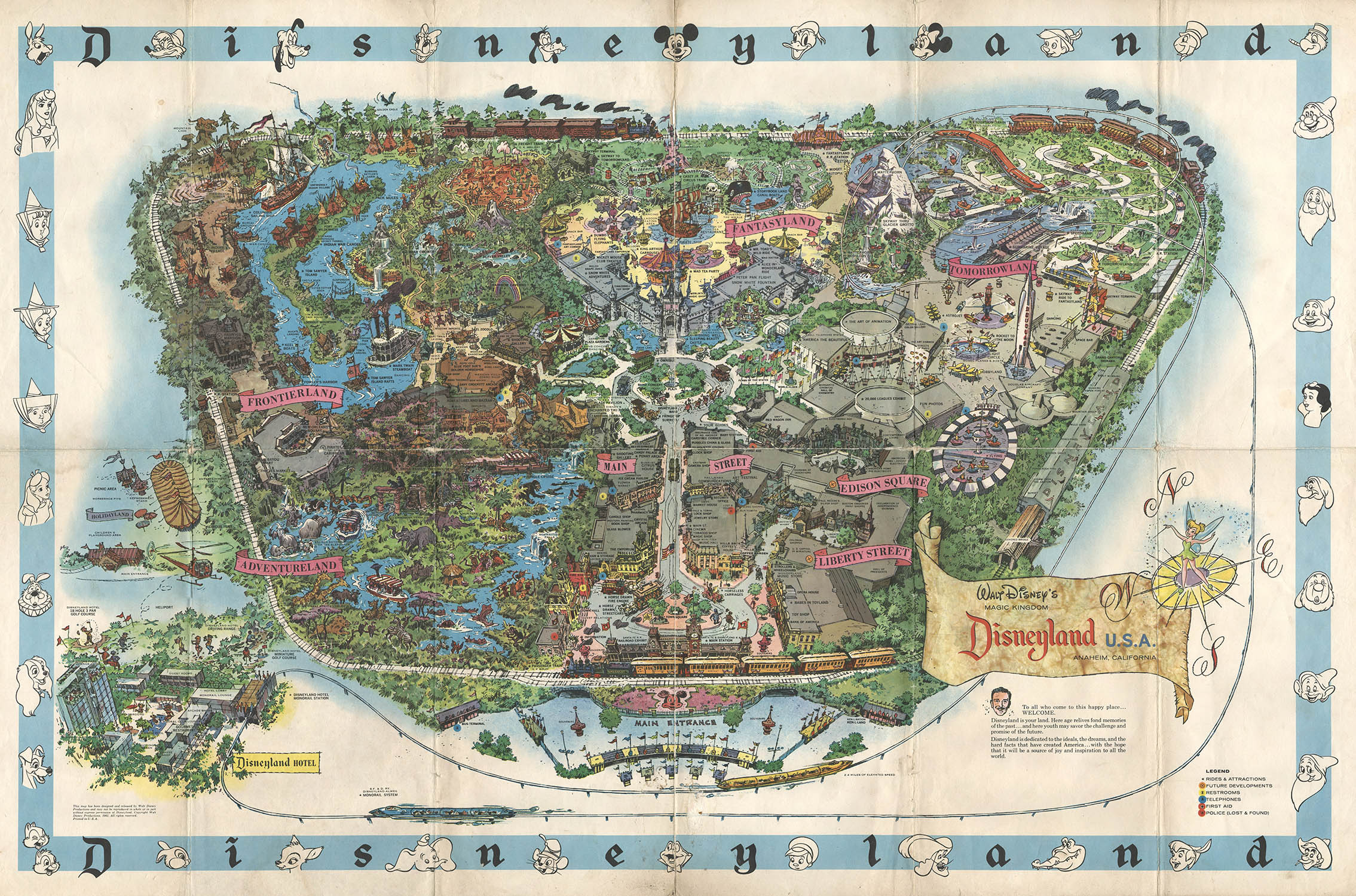 kart over disneyland