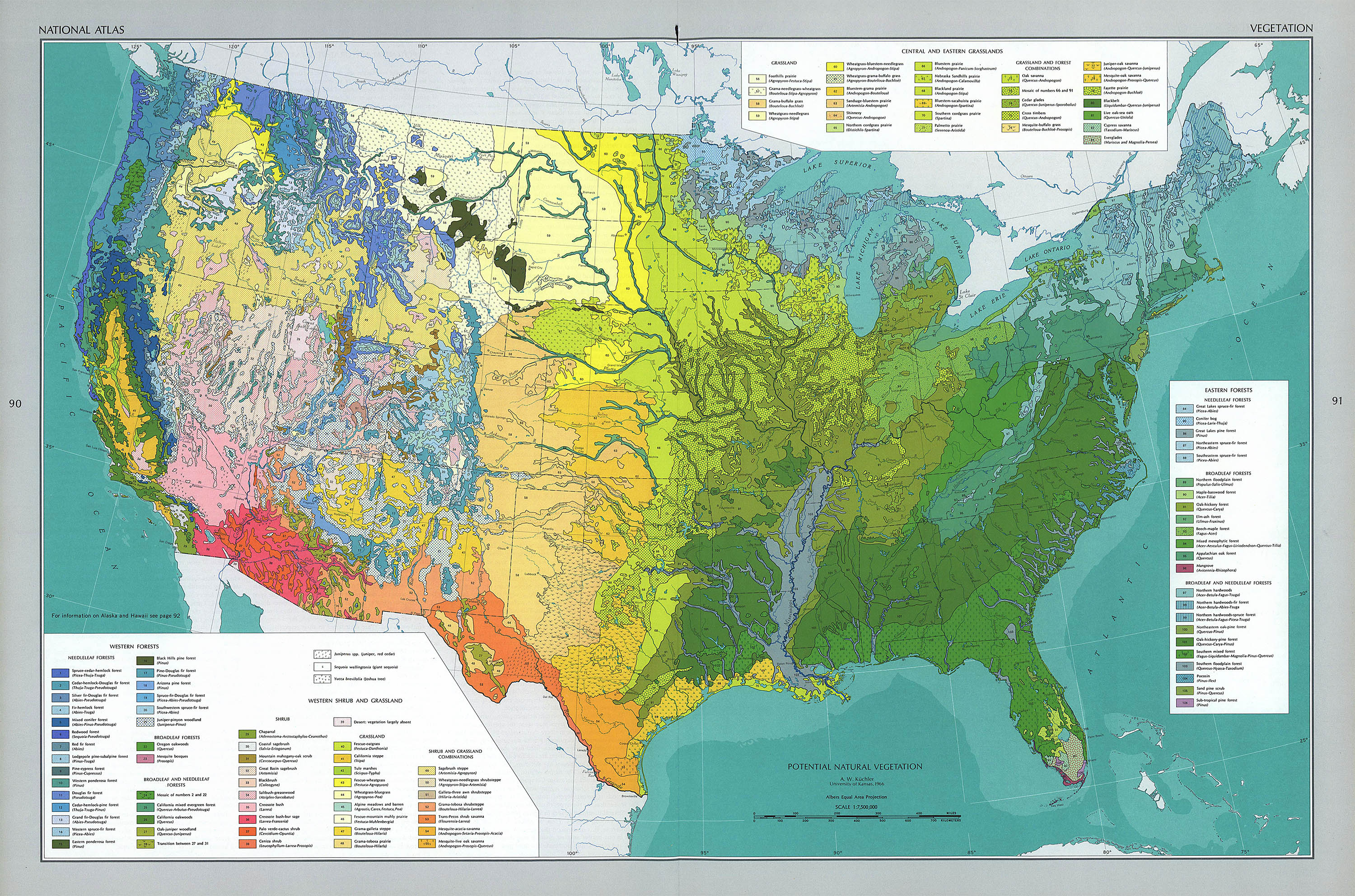 Map Of America 52 States.The National Atlas