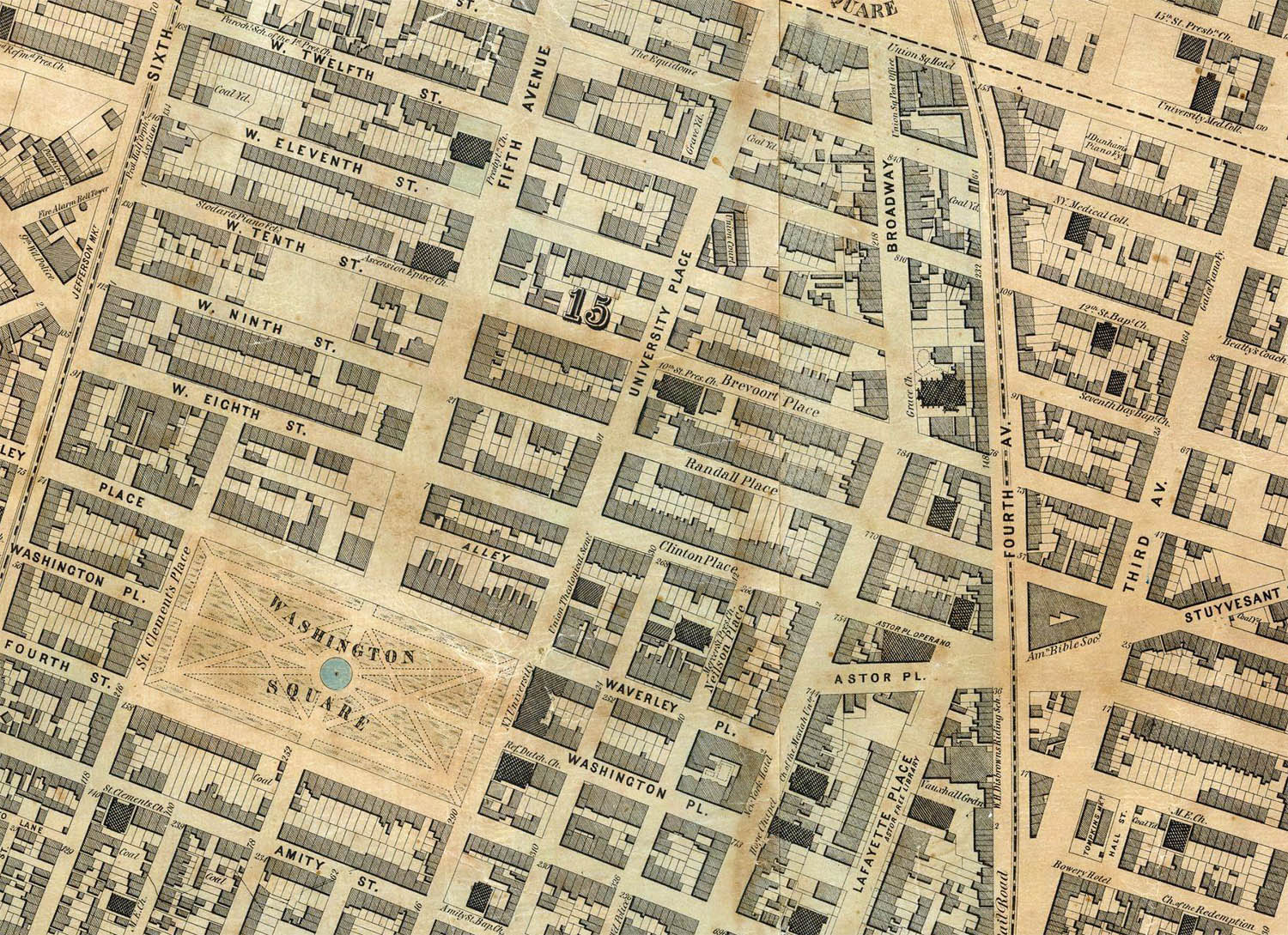 The Streets Of New York - Map of new york city streets