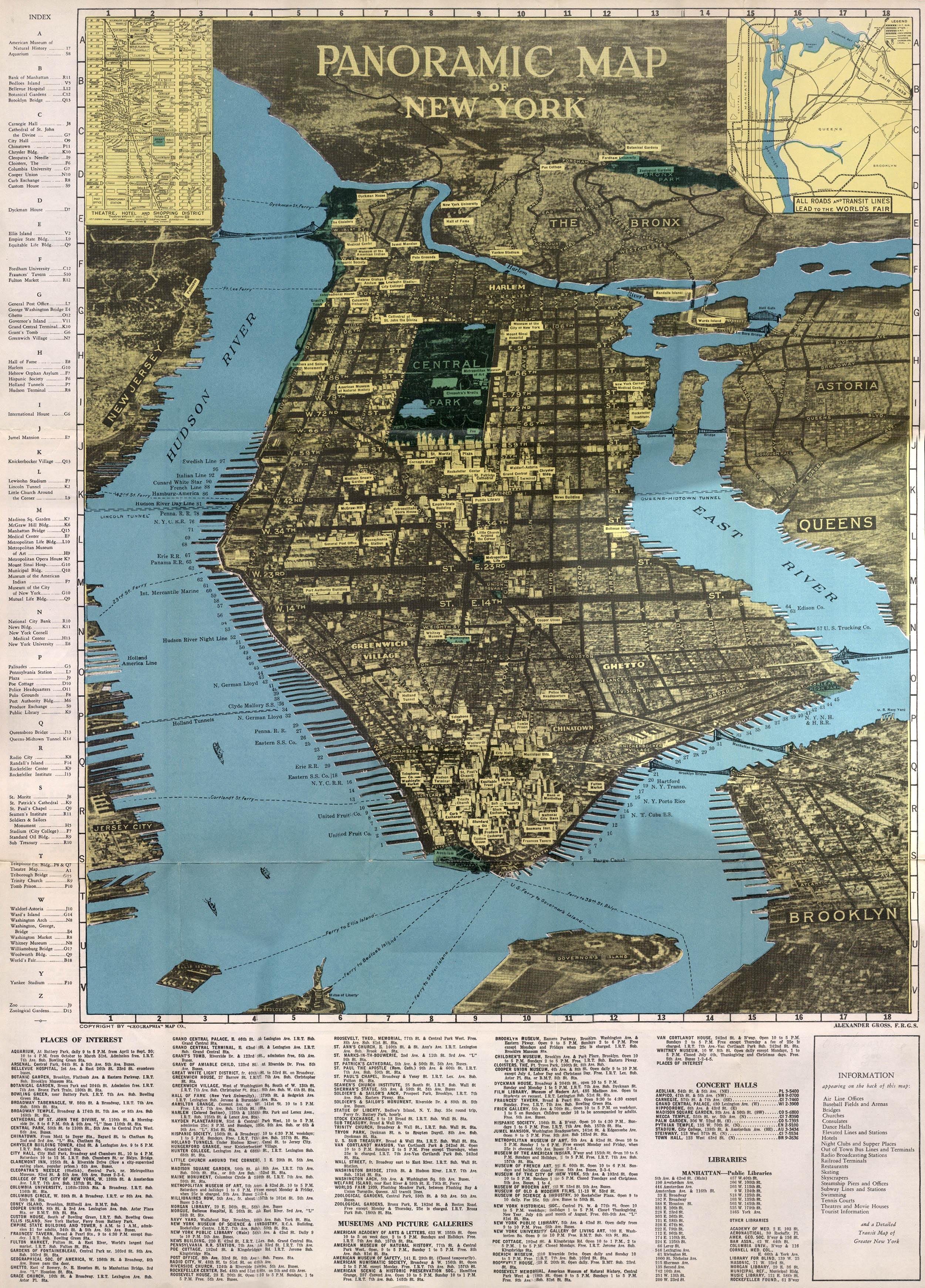 The Streets Of New York - Nyc map images