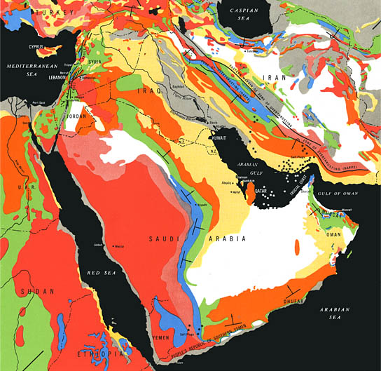 Saudi Oil Field Geology, click for larger image
