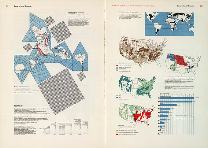 World Geo-graphical Atlas, Conservation, click for larger image