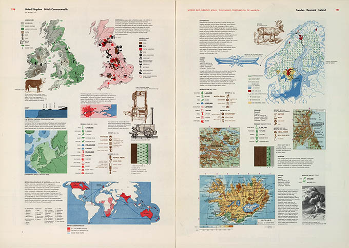 World Geo-graphical Atlas, Great Britian, click for larger image