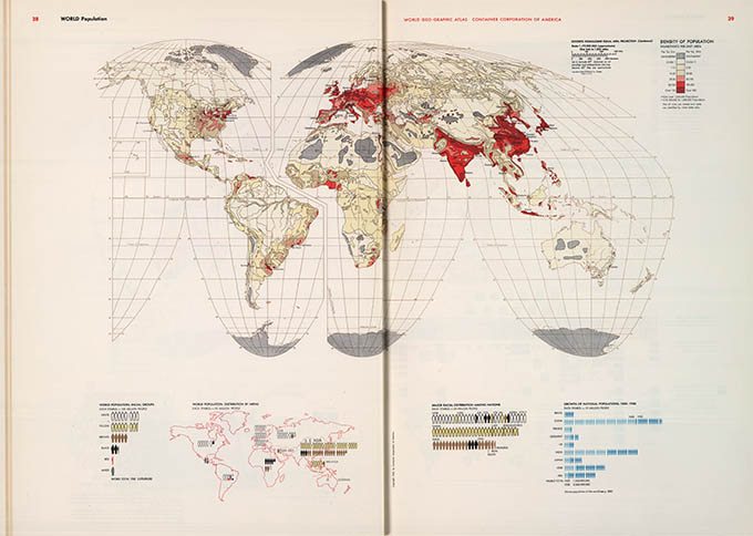 World Geo-graphical Atlas, population, click for larger image