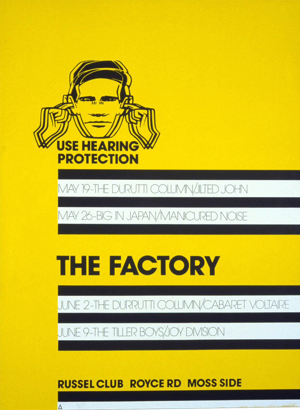 FAC 1, The Factory, 1978