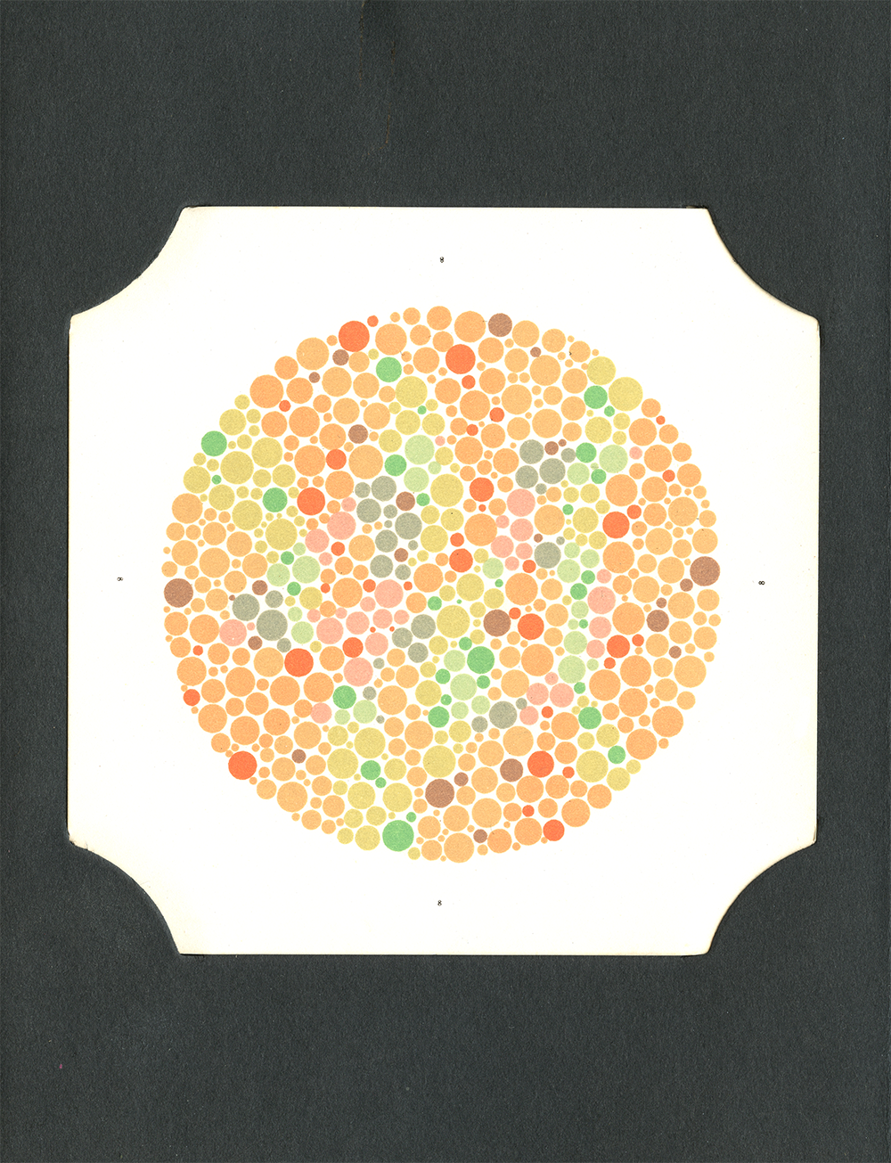 Book for color blindness - Ault Ishihara Plate Click For Larger Image