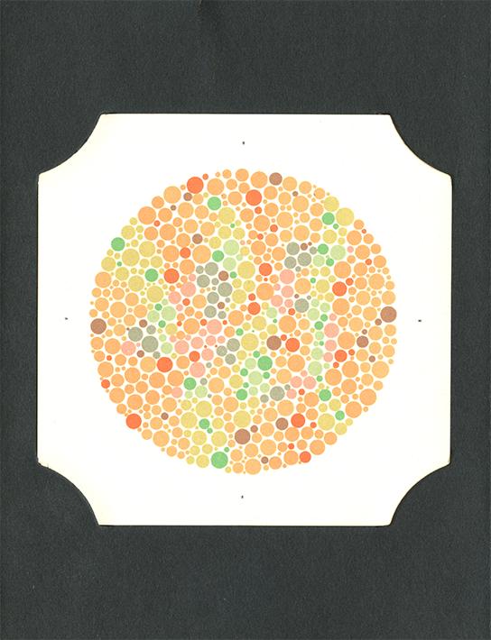 colour blindness test pdf