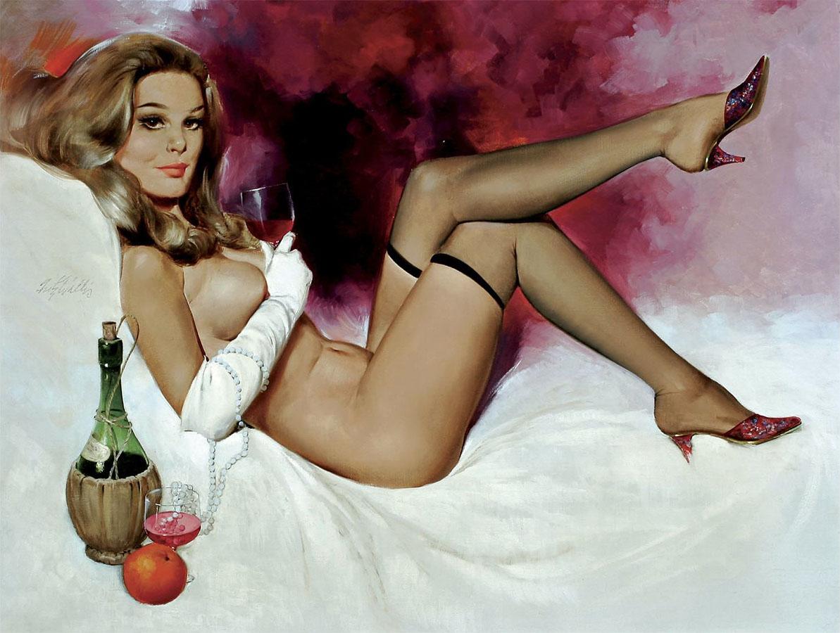 Nude pinup art Nude Photos