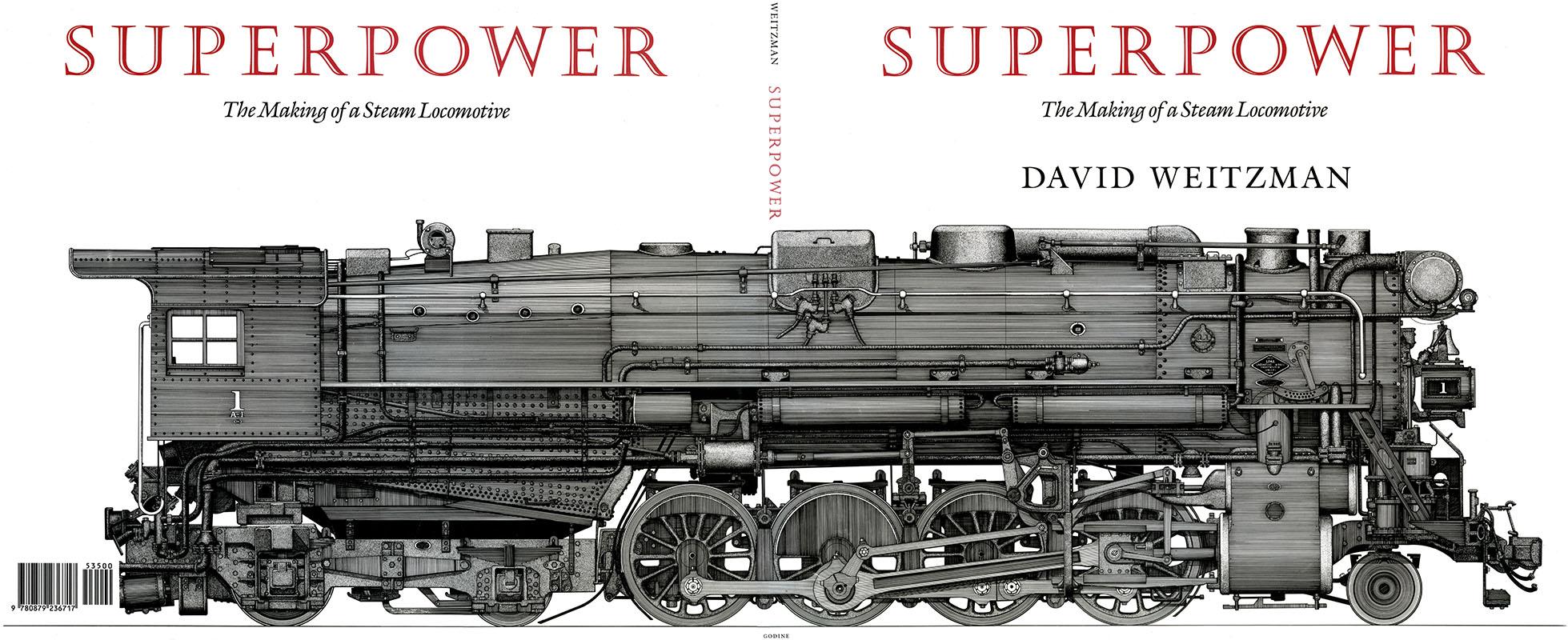 Steam Locomotive Drawings