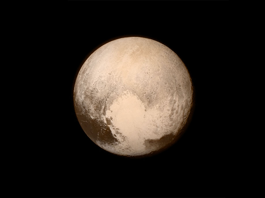 Pluto, click for larger image