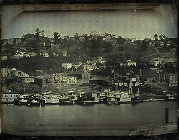 Daguerreotype View of Cincinnati, pl.4. click for larger image