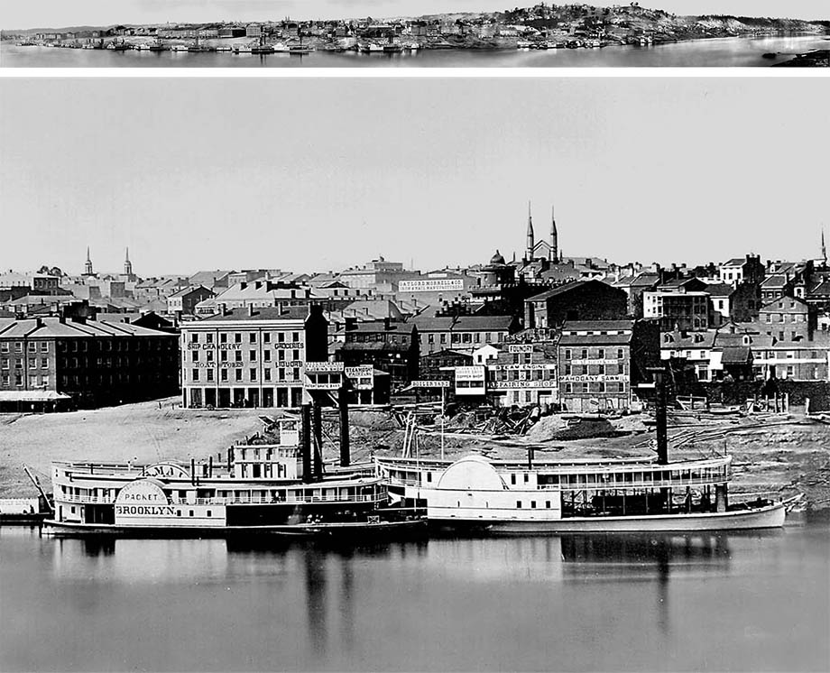 Cincinnati Riverfront, click for larger image