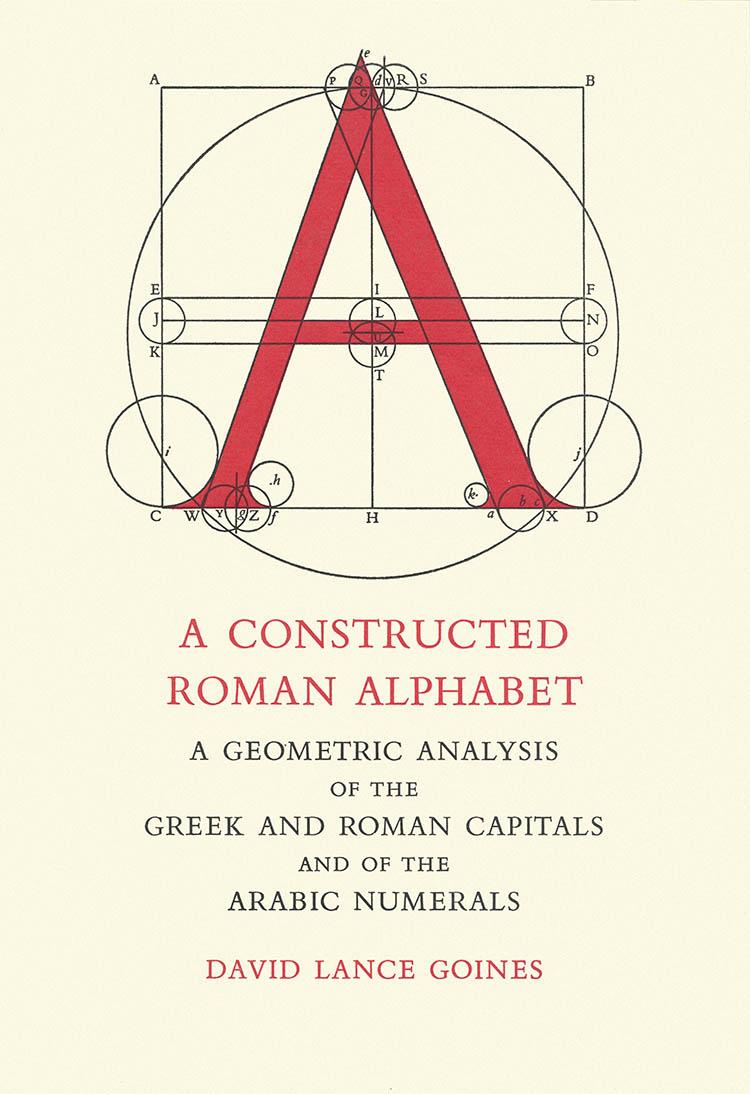 A Constructed Roman Alphabet