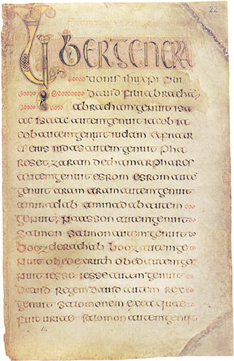 The Book of Durrow, click for larger image