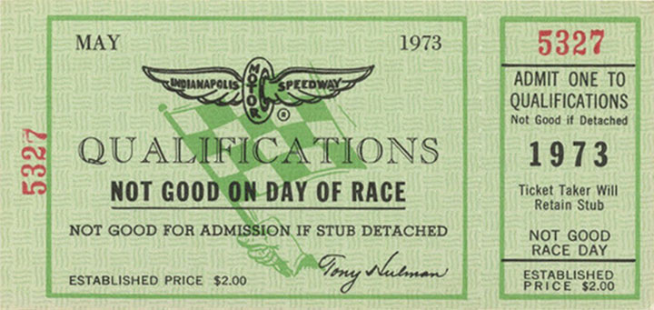Ticket for qualifications